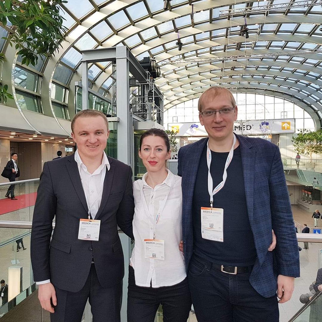 MEDICA 2018, РЕПОРТАЖ С ВЫСТАВКИ - Новости RH